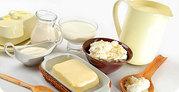 Масло сливочное,  спред,  маргарин,  сгущенное молоко,  каймак,  мол
